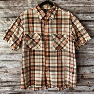 5/$25 Big Mac Short Sleeve Button Up